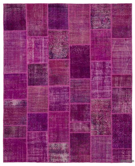 Overdyed Patchwork Rug - overdyed patchwork rugs kilim rugs overdyed vintage