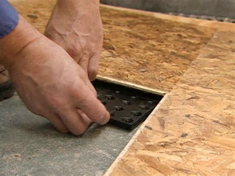 Basement Floor Underlayment Subfloor Options For Basements Hgtv