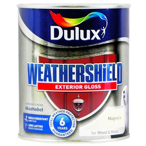 exterior gloss paint for wood dulux weather shield protection exterior gloss paint