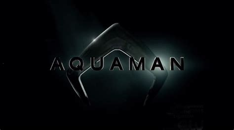 Aquaman Logo aquaman 2018