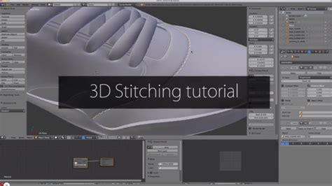 tutorial blender 3d 3d stitching tutorial in blender blendernation