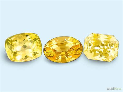Lemon Sapphire Sertifikat 3 ways to check yellow sapphire wikihow