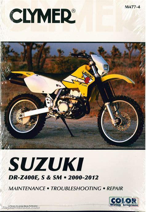 Suzuki Service Parts Dr Z400 Drz400 Suzuki 2000 2012 Clymer Motorcycle Repair
