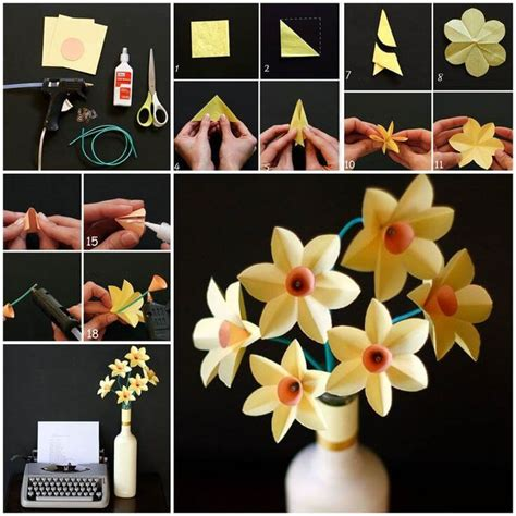 Step By Step Flower Origami - diy origami flowers step by step tutorials k4 craft