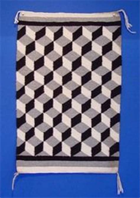 Optical Illusion Rugs For Sale by Post 1950 Navajo Rugs On Navajo Rugs
