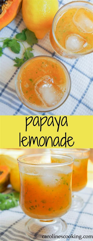 Papaya Detox Drink by 25 Best Ideas About Papaya Smoothie On Papaya