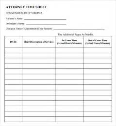 sample attorney timesheet 5 documents in pdf