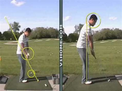 v1 golf swing analysis v1 golf swing analysis lesson 1 must see youtube