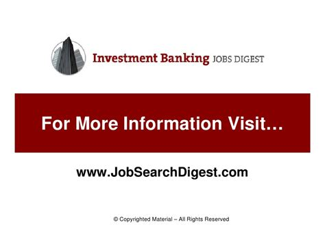 Investment Banking After Mba Salary Analysy by A Primer On Investment Banking Careers