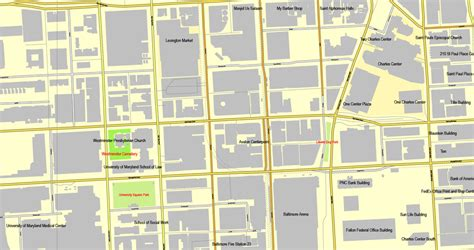 us zip code map printable baltimore maryland us printable vector city plan