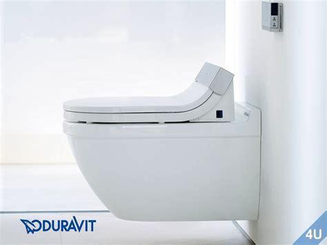 wc sitz mit dusche duravit dusch wc sitz mit verdeckten anschl 252 ssen sensowash