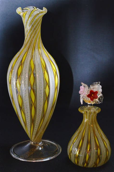 Perfume Bottle Vase by 164 Best Images About Latticino Glass On