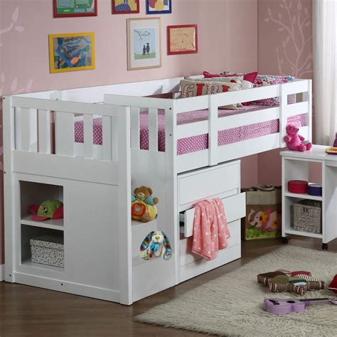Cabin Mid Sleeper Beds by Children S Neutron Mid Sleeper Single Cabin Bunk Bed