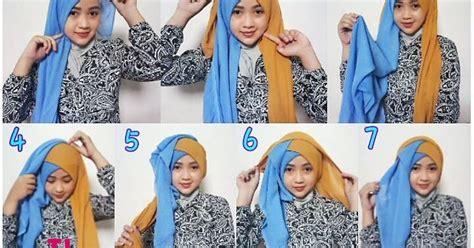 tutorial hijab segi empat simple untuk hari kartini tutorial hijab untuk kantor hijaberduit