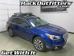 Subaru Outback Roof Basket Subaru Outback With Thule 859 Roof Top Cargo Basket