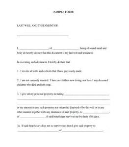 39 last will and testament forms amp templates template lab