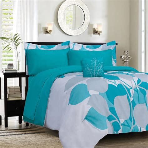 Sham For Bed Turquoise Comforter Sets Homesfeed