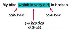 embedded clauses explained for parents embedded clauses