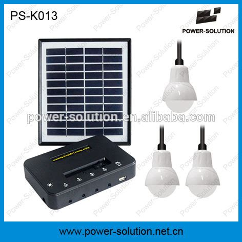 4w Solar Panel Lighting System For Family Use Buy Solar Solar Lighting System Pdf