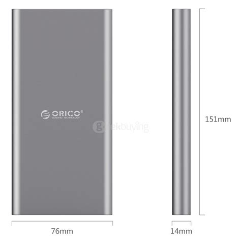 Orico T1 Type C 10000mah Power Bank orico t1 type c 10000ma power bank backup battery