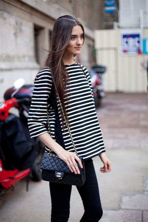 everyday french fashion style street style monograms in march
