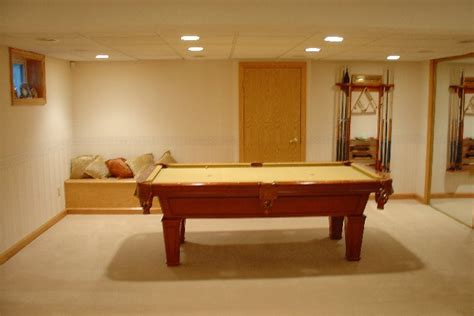 pool table lighting options creative basement lighting ideas finished basement with
