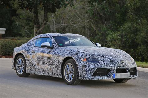 the new toyota supra 2017 2017 toyota supra spotted with production bodywork autocar