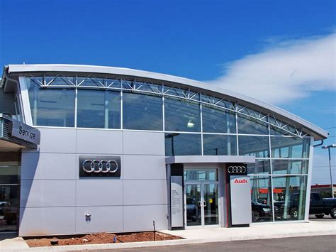 Audi Dealership by 2004 05 04 Audi Dealership Oakville Kubes Steel