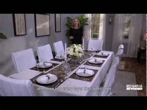 How To Dress A Table | dressing up your dining room table youtube
