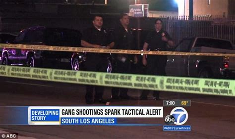 Los angeles gangs in contest to kill 100 people in 100 days daily