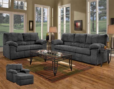 black fabric sofa sets black fabric modern sofa loveseat set w options