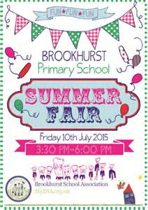 summer fair poster brookhurst association
