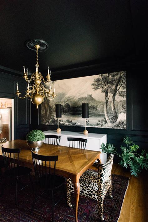 dark dining room best 25 dark dining rooms ideas on pinterest dark table