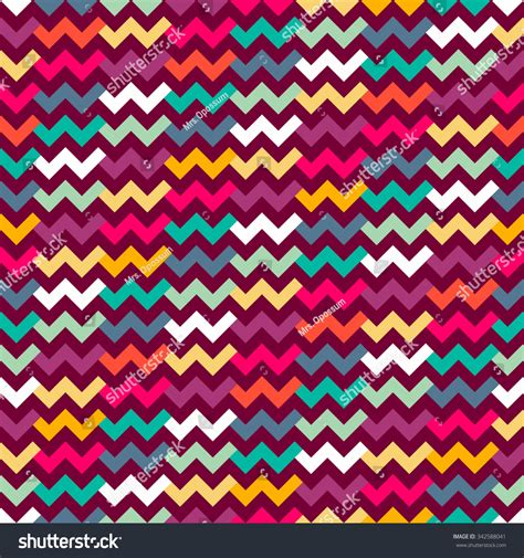 textile pattern website seamless geometric pattern zigzags can be stock vector