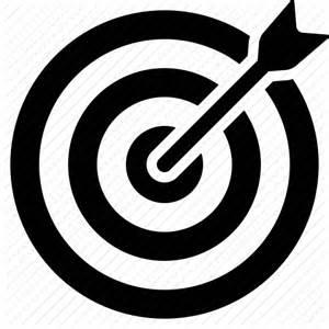 aim bullseye business success goal marketing