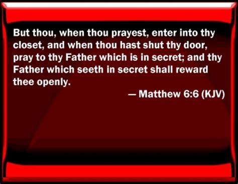 bible verse powerpoint slides for matthew 6 6