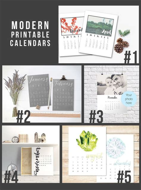 printable calendar gift 15 printable 2016 calendars last minute gifts and