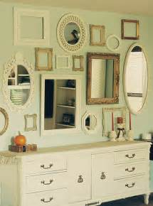 Wall Of Mirrors by Beano S Baubles Eclectic Frame Collage Wall