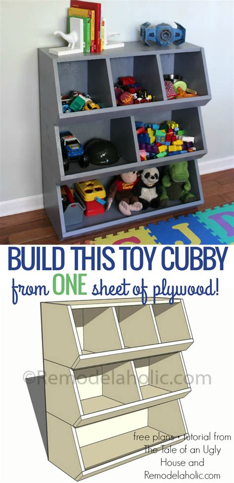 easy view cabinet organizers remodelaholic how to build a toy cubby shelf boy s