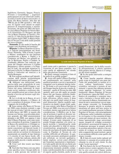 Filiali Banca Popolare Di Novara by Domenico De Angelis Banca Popolare Di Novara Ecco Cosa