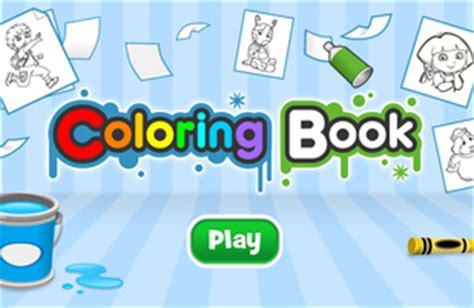 nick jr coloring games gamesworld free coloring pages