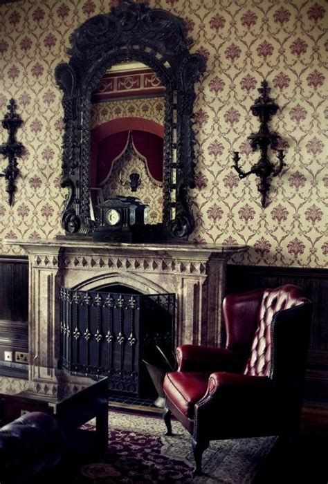 gothic dining room 18 cool gothic living room designs digsdigs