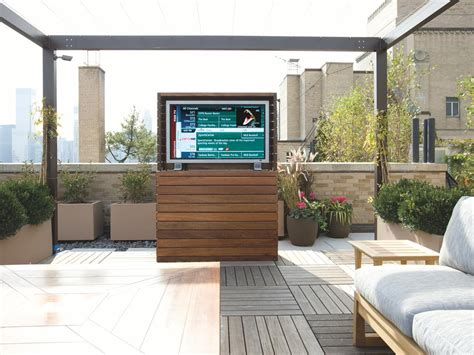 backyard tv outdoor av what to consider hgtv