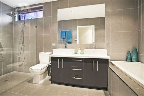 Designer Bathrooms Gallery Our Work Contemporary Bathrooms Archives Cos Interiors Pty Ltd Exceptional Best Cabinet