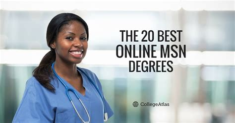Msn Mba Degree Programs by The 20 Best Msn Degrees