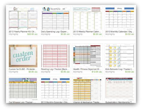 Printable Life Organizer | 7 best images of organizing goal printables free