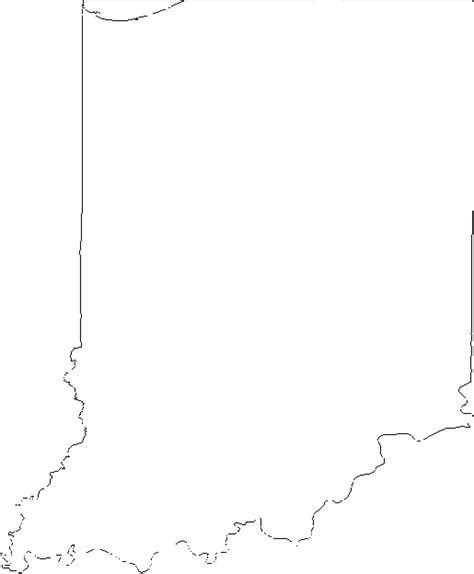Indiana State Outline Clipart by Image Gallery Indiana Outline Clip