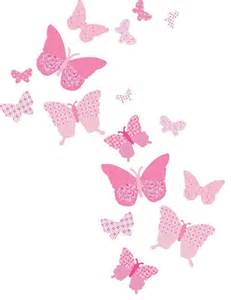 Vintage Girls Bedroom Furniture Vintage Butterfly Wall Decals Pink Craftsman Wall