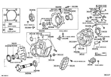 toyota parts diagram 1994 toyota transfer diagram toyota auto parts