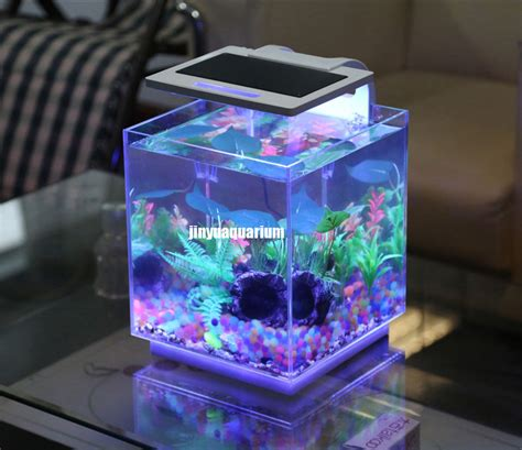 Lu Led Aquarium Mini image gallery nano fish tank